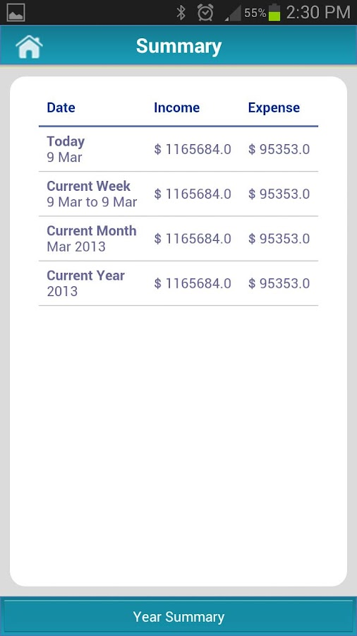 Money Tracker Free - Expense- screenshot
