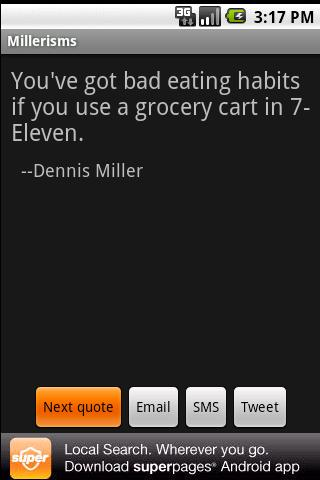 Millerisms - screenshot
