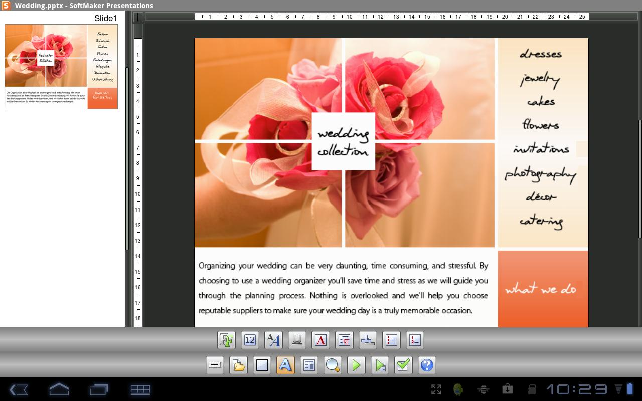 Office: Presentations TRIAL - screenshot