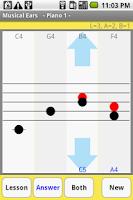 Screenshot of Musical Ears