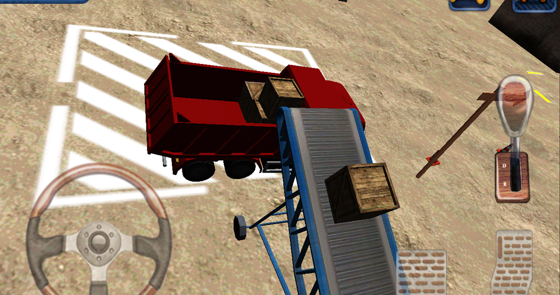 Heavy Truck 3D Cargo Delivery - screenshot