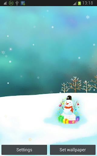 Christmas Frozen Snowman HD