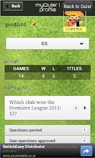 Quisr Football Champions|Quiz - screenshot thumbnail