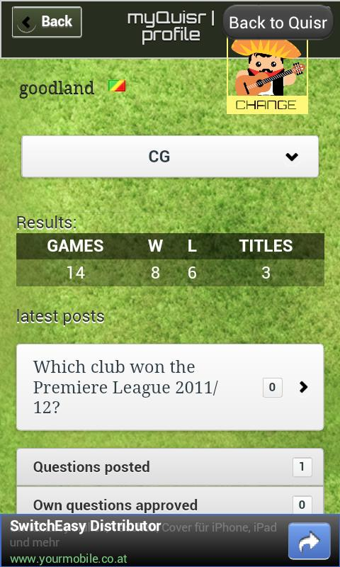 Quisr Football Champions|Quiz - screenshot