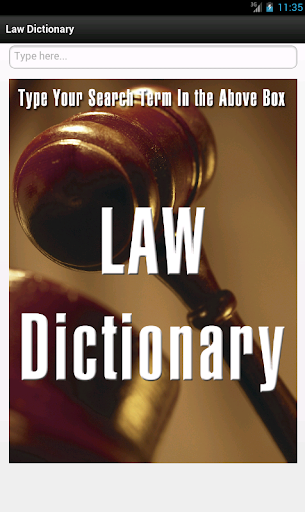 【免費教育App】Law & Legal Dictionary-APP點子