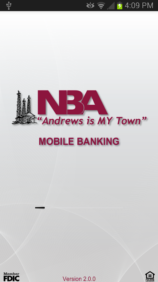 National Bank of Andrews- screenshot