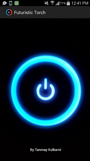 Futuristic Torch