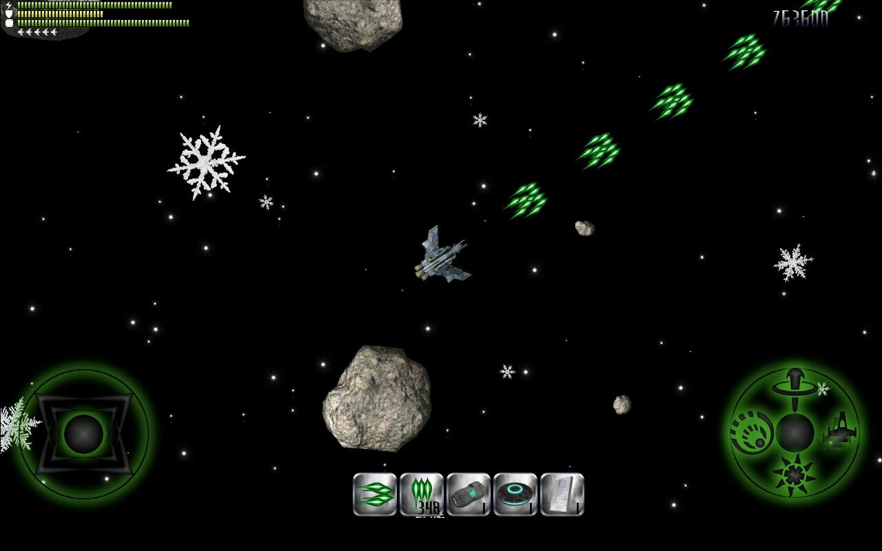 Astro Blaster (Asteroids) Demo - screenshot