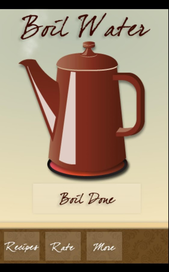 Tea Reciper - screenshot