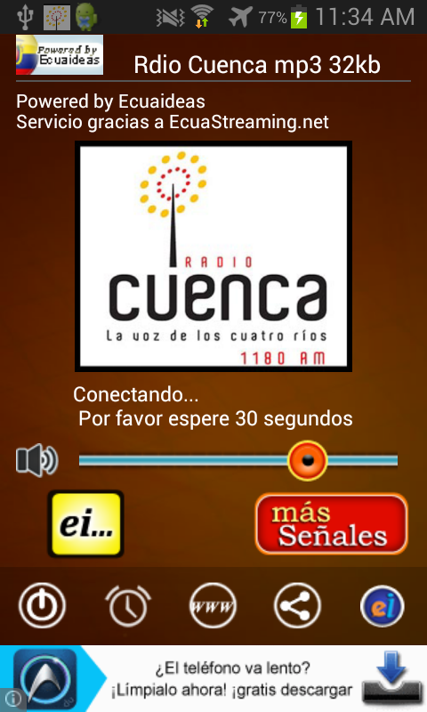 Radio Cuenca- screenshot