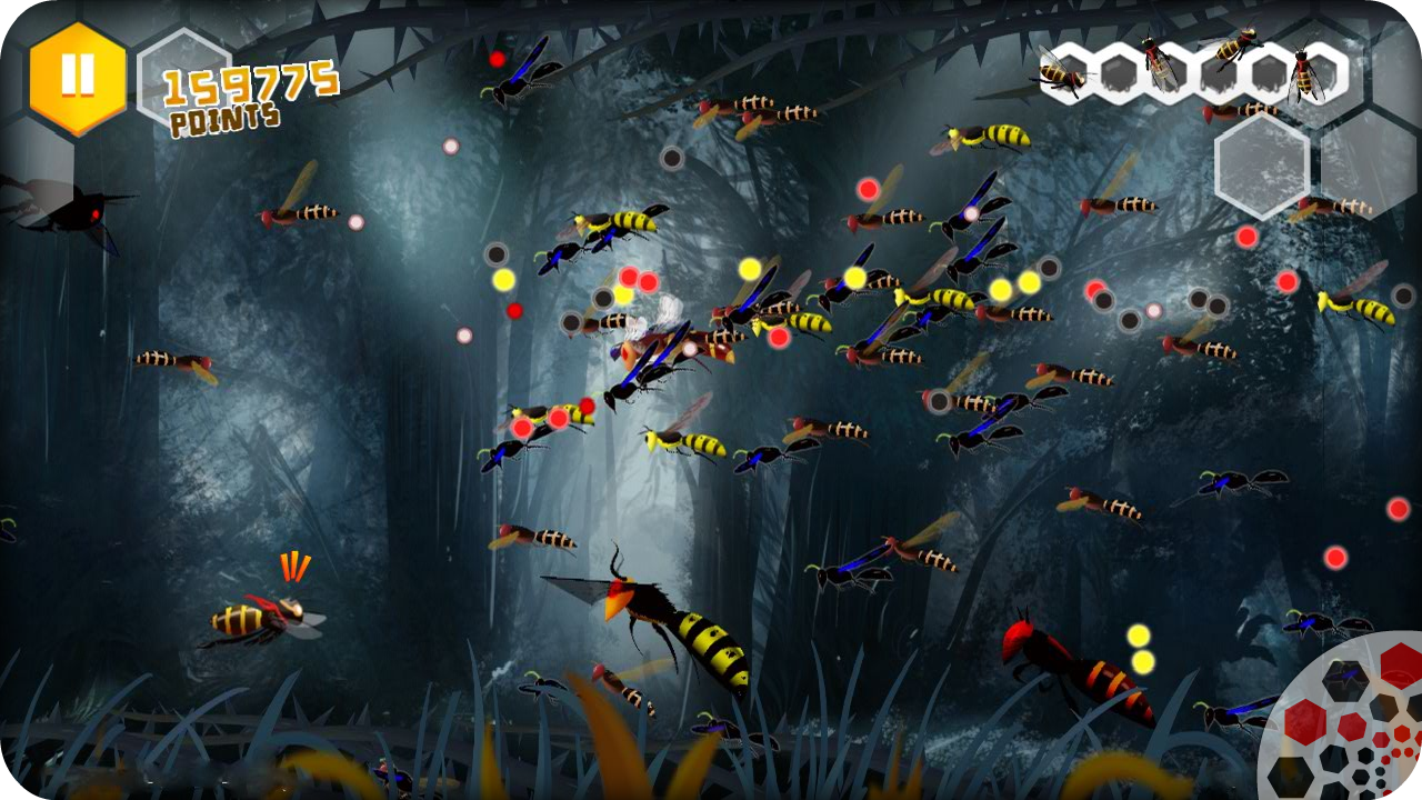 Beekyr FULL: Eco Shoot'em up - screenshot