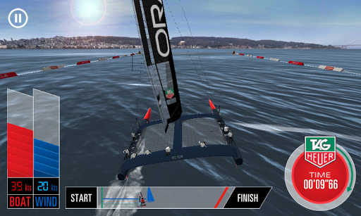 Oracle Team USA Speed Trial