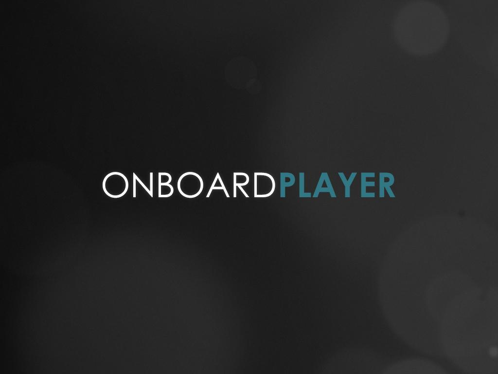 Onboard Player- screenshot