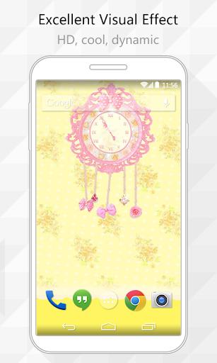 Cute Clock Live Wallpaper