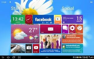 Screenshot of Metro Ui HD Widget Tile Demo