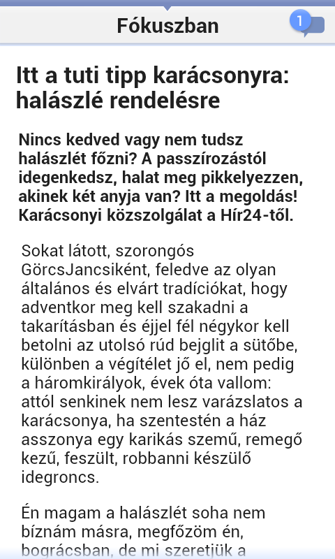 Hír24 - screenshot