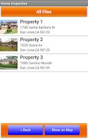 Screenshot of Home Inspection Checklist