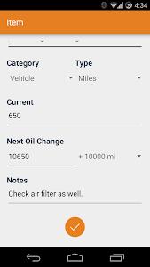 Universal Oil Reminder v1.1