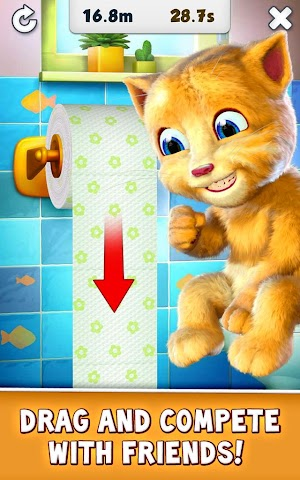 Screenshot 2 Talking Ginger
