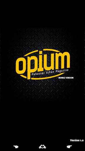 Opium Magazine Mobile