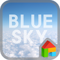 Blue sky dodol theme icon
