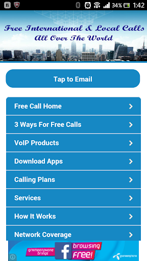 Free Mobile Phone Call