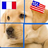 PuzzleAnimals: English-French
