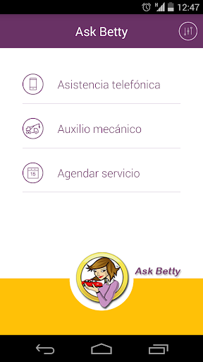 Ask Betty Móvil