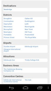 All Edinburgh Hotels - screenshot thumbnail