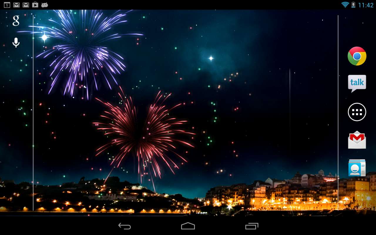 Kf Fireworks Live Wallpaper Android Apps On Google Play