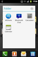 Screenshot of Droid App Folder