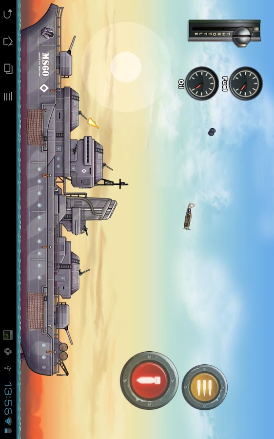 Wings of Fury- screenshot