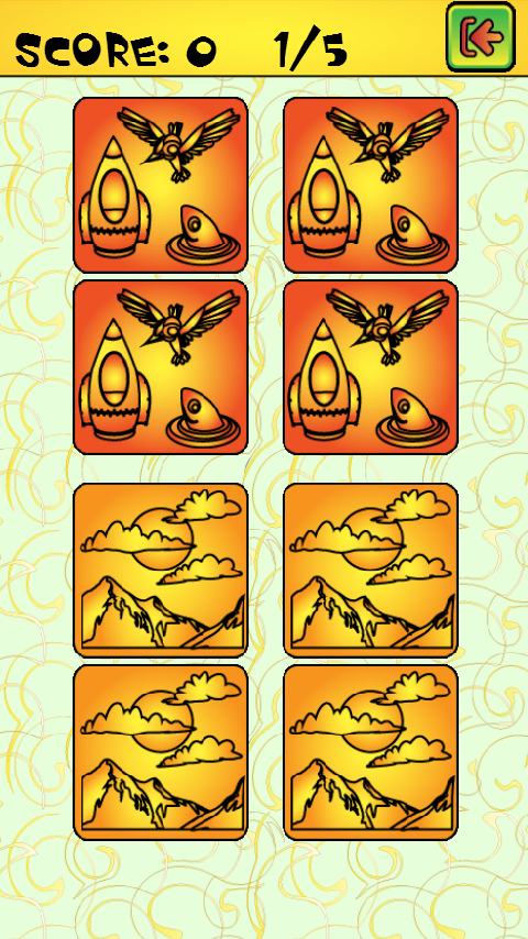 Free Memory Game - screenshot