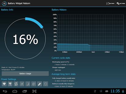 Battery Widget Reborn 1.9.14/PRO APK