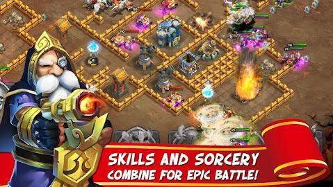 Castle Clash: Age of Legends Captura de pantalla 19