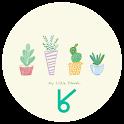 Green Green_ATOM spring theme icon