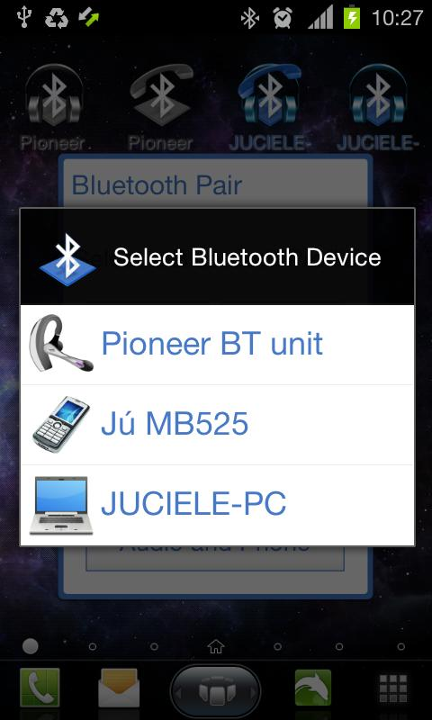 Bluetooth Pair- screenshot