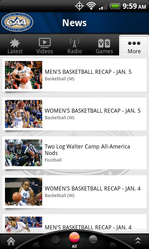 CAA Sports: Free - screenshot