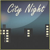 City Night Go Launcher Theme