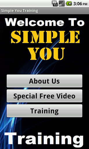 Simple You Training