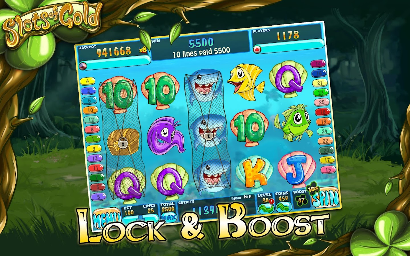 Slots of Gold- screenshot