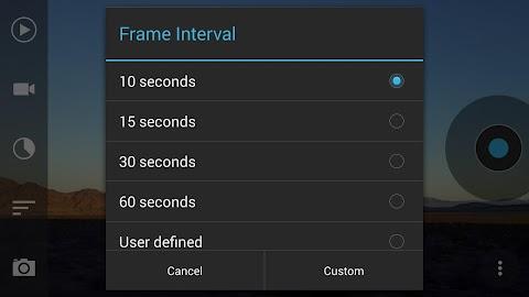 Framelapse - Time Lapse Camera Screenshot 3