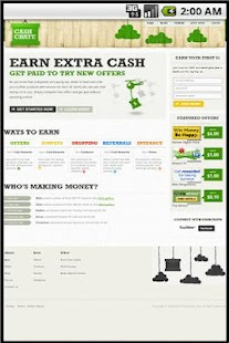 Earn Extra Money - CashCrate - screenshot thumbnail