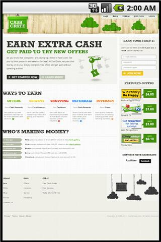 Earn Extra Money - CashCrate - screenshot