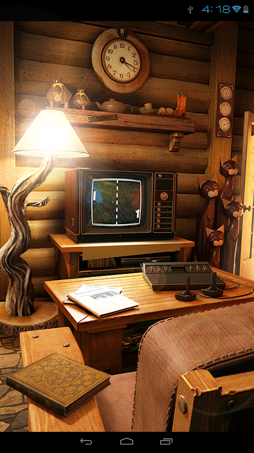 My Log Home iLWP FREE - screenshot