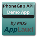 PhoneGap API Demo by MDS logo