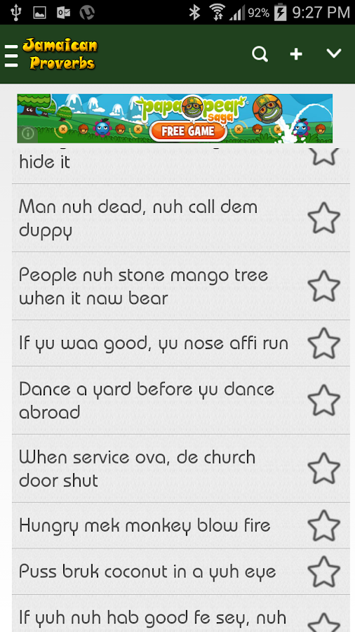 Jamaican Quotes Inspiration Jamaican Proverbs  Android Apps On Google Play