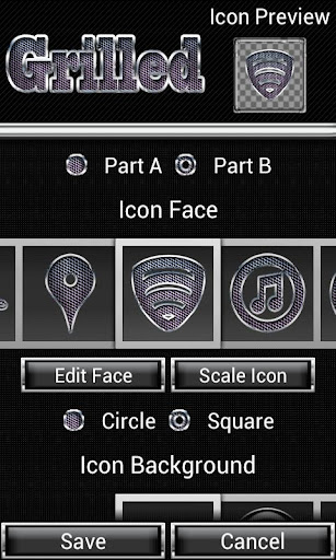 Icon Creator Grilled ADW Nova