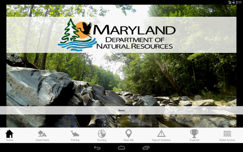 Maryland Access DNR- screenshot thumbnail