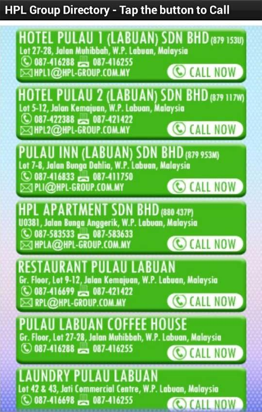 Hotel Pulau Labuan Group- screenshot